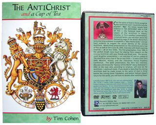 """The AntiChrist and a Cup of Tea"" book with DVDPack04 photo."
